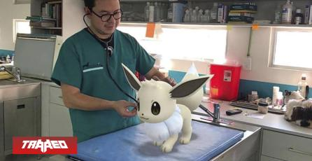 """Hospital veterinario """"atendió"""" a distintos Pokémon para promocionar sus servicios"""