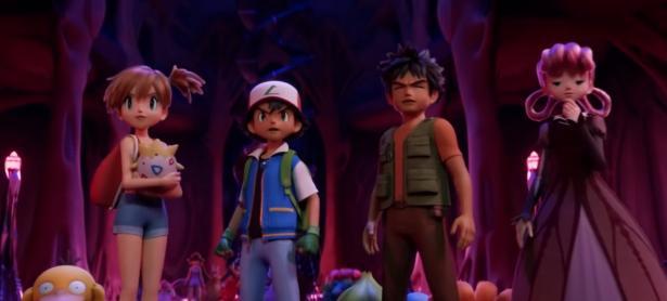 Así lucen Ash y sus amigos en primer trailer de la película de Pokémon: Mewtwo Strikes Back Evolution