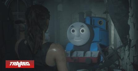 Resident Evil 2: Mod convierte a Mr. X en Thomas el tren