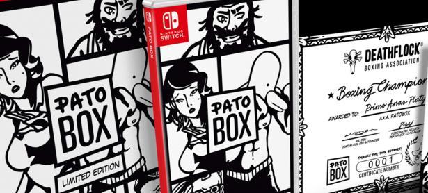Habrá versión física de <em>Pato Box</em> para Nintendo Switch y PS Vita