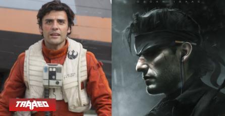 Oscar Isaac muestra su interés por interpretar a Snake en película de Metal Gear Solid