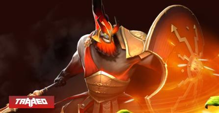 'Mars', El dios de la guerra aterriza oficialmente en la batalla de DOTA 2