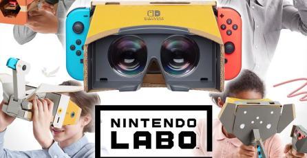 ¡Sorpresa! Nintendo presentó el Labo VR Kit