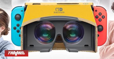 Es oficial: Nintendo Switch llega a la realidad virtual con su nuevo kit de Labo
