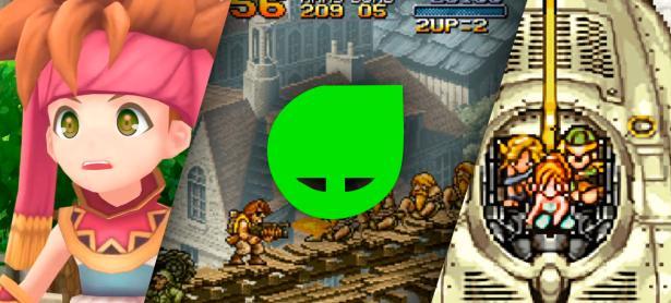 Aprovecha Metal Slug, Chrono Trigger y Secret of Mana a 50% de descuento