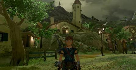 Así de diferente se ve <em>Zelda: BOTW</em> sin cel-shading