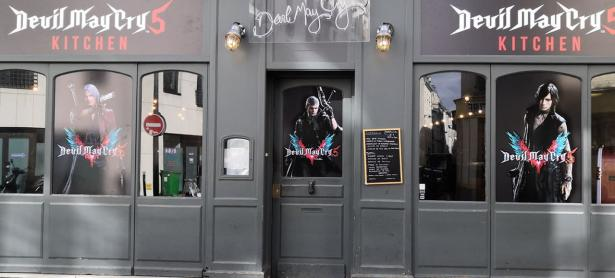 Celebran debut de <em>Devil May Cry 5</em> en Francia con restaurante temático
