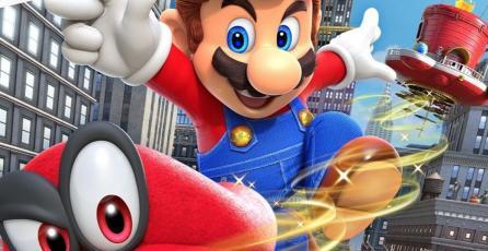 El increíble libro de arte de <em>Super Mario Odyssey</em> llegará a América