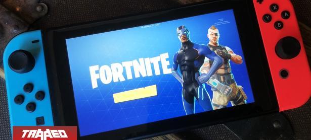 Fortnite discriminará a jugadores de Switch emparejándolos solo con usuarios móviles