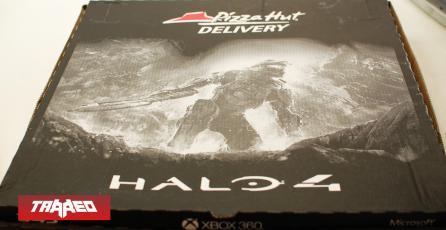 Fanáticos de Halo llenan de pizza 343 Industries tras anuncio de Master Chief Collection