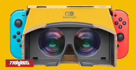 """Hasta a 90 dólares llegará el nuevo kit de """"Realidad Virtual"""" de Nintendo LABO"""
