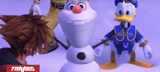 Kingdom Hearts 3 cambia voz de Olaf por actor sorprendido con cocaína