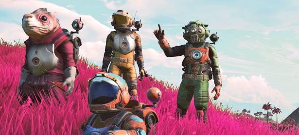 Mejorarán el multiplayer online de <em>No Man's Sky</em> con BEYOND
