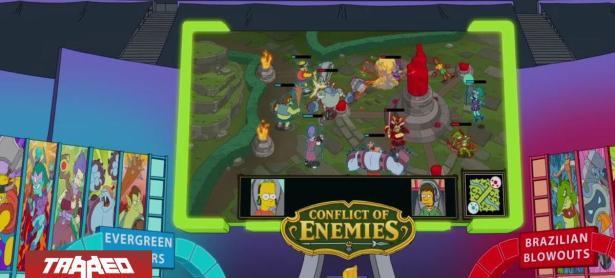 Simpsons y los esports: ¿de qué trató?