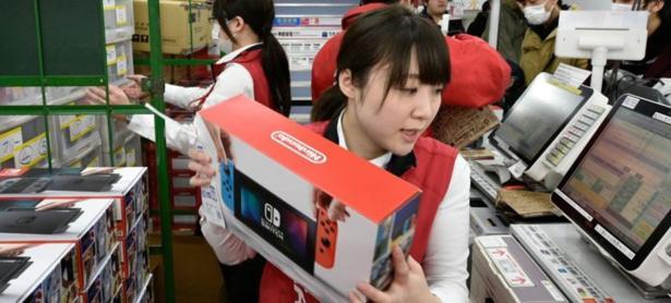 Switch se mantiene como la consola favorita del público japonés