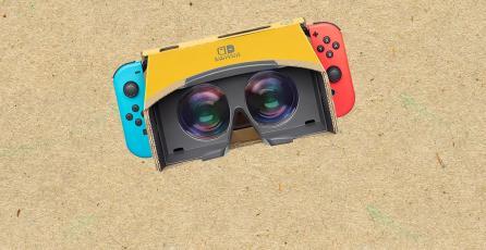 Opinión: El VR llega a Switch... en forma de cartón