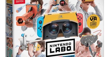 Checa como funciona el VR Kit de Nintendo Labo