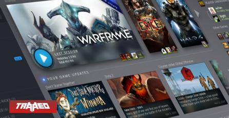 Steam rediseñará al completo su libreria de juegos y agregará sistema de eventos