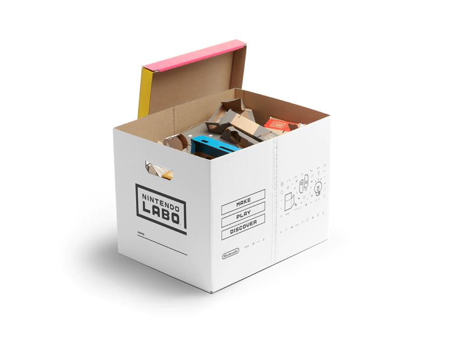 Caja de cartón para el Vehicle Kit