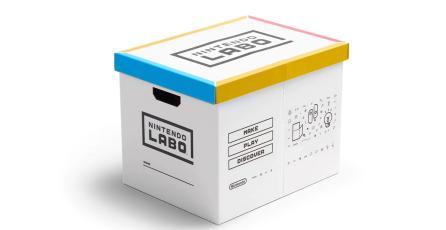 Nintendo pone a la venta caja de cartón para guardar kits de Nintendo Labo