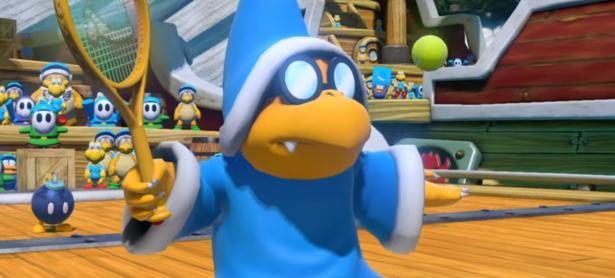 El nuevo trailer de<em> Mario Tennis Aces</em> presenta al travieso Kamek