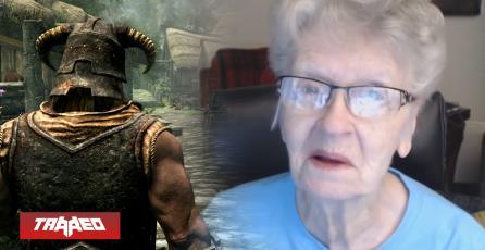"""Lo logró: La """"abuelita"""" de Skyrim estará inmortalizada en el próximo juego"""