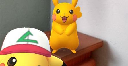 Pikachu con gorra de Ash empieza a aparecer en<em> Pokémon GO</em>