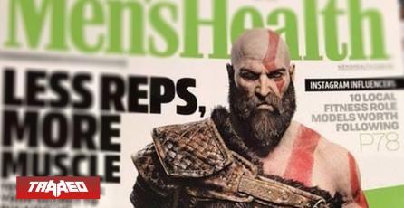 "Kratos se roba primera plana de revista de salud para hombres como un ""modelo a seguir"""