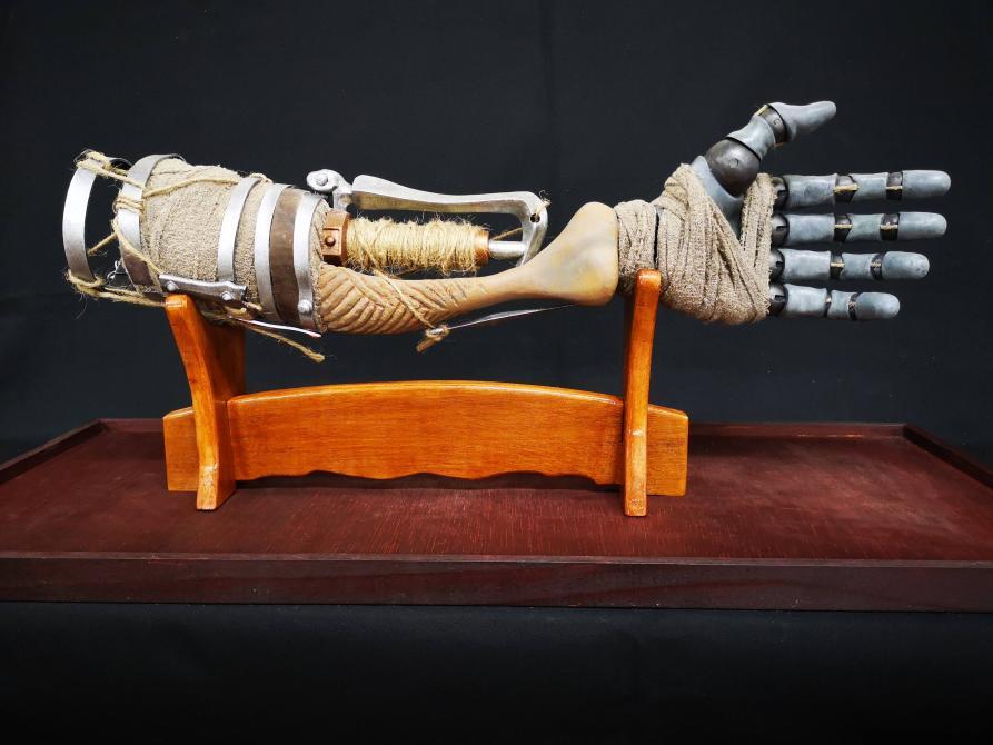 El brazo prostético de <em>Sekiro: Shadows Die Twice</em>