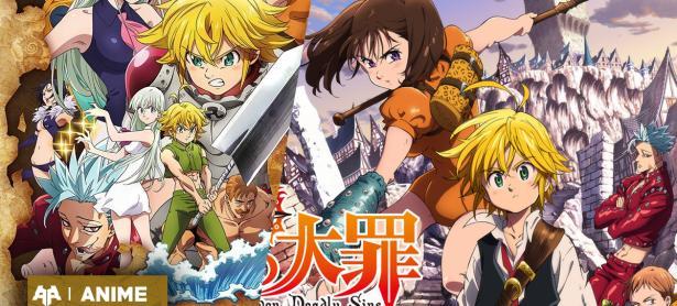 El nuevo proyecto de Nanatsu no taizai  se llamaría Wrath of the god y aquí está su afiche