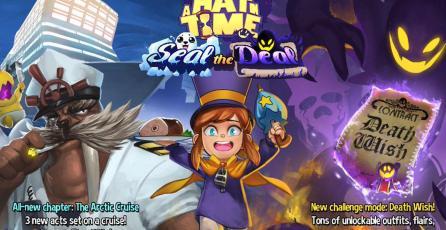 DLC de <em>A Hat in Time</em> llegará a Nintendo Switch
