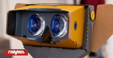 Kit VR de Nintendo LABO advierte 'quemar tus ojos' de mirar al sol