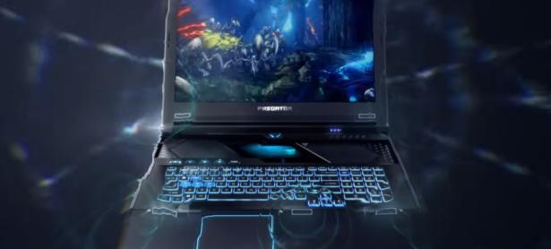 Acer anuncia laptop con teclado desplazable