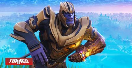 Thanos regresaría en un crossover con Fortnite ante el estreno de Avengers: Endgame