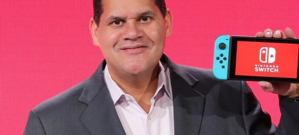 Hoy se retira Reggie Fils-Aime, presidente de Nintendo of America