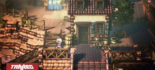 Octopath Traveler se luce en PC con sus primeras imágenes in-game