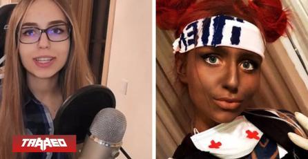 Cosplayer baneada en Twitch por maquillarse de la tonalidad de un personaje de Apex