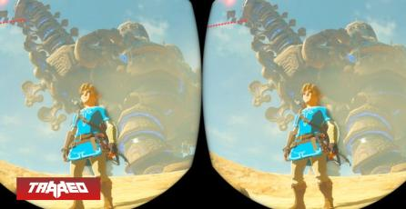 ¿Vale la pena? Así se ve Zelda Breath of the Wild inmerso en realidad virtual