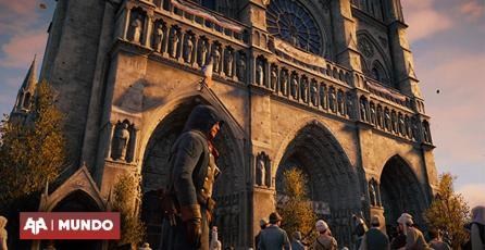Francia usaría a Assassin's Creed Unity para reconstruír la catedral de Notre Dame