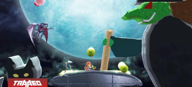 El editor de mapas arriba a Smash Bros. Ultimate hoy mismo