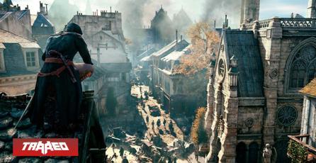 Assassin's Creed Unity está totalmente gratis en tributo a la catástrofe de Notre Dame