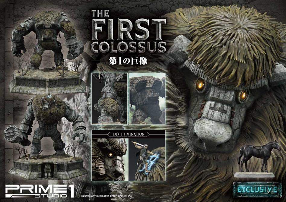 Figura de Valus, primer coloso