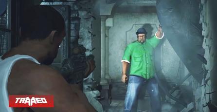 Extravagante: Mod de Resident Evil 2 lleva a CJ y Big Smoke como protagonistas