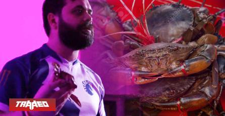 Atacan con un cangrejo muerto a profesional de Smash Bros. Melee