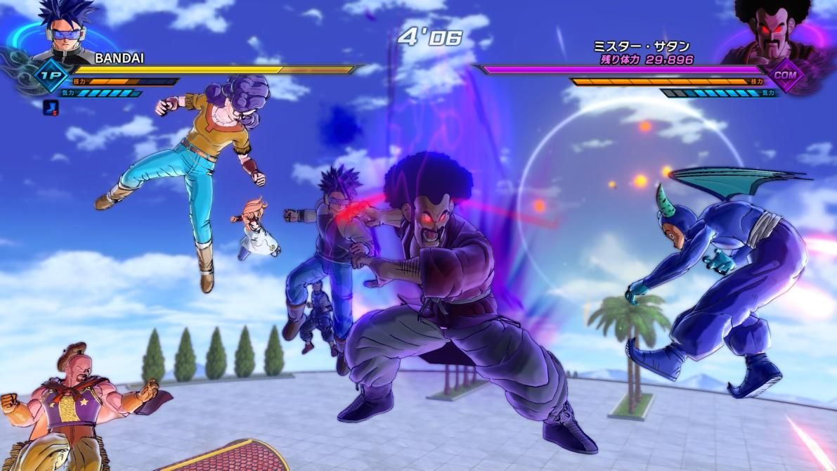 Vegeta SSG en Dragon Ball Xenoverse 2