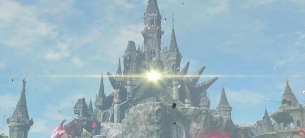 Así se ve el imponente Castillo de Hyrule en <em>Minecraft</em>