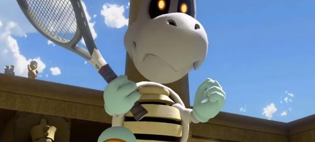 Dry Bones será el próximo personaje que llegará a <em>Mario Tennis Aces</em>