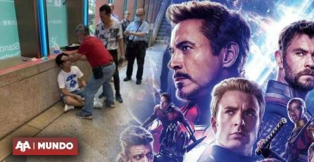 Hombre recibe golpiza tras hacer spoiler de Endgame en la entrada del cine