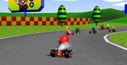 Así sonaba el tema de presentación en el prototipo de <em>Mario Kart 64</em>