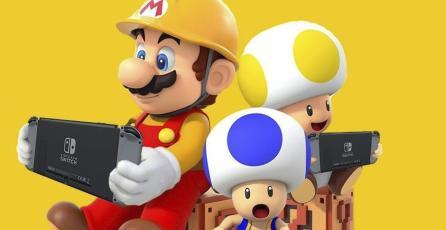 Trailer de <em>Super Mario Maker 2</em> repasa la evolución de Mario